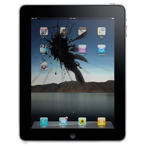 ipad lcd screen cracked