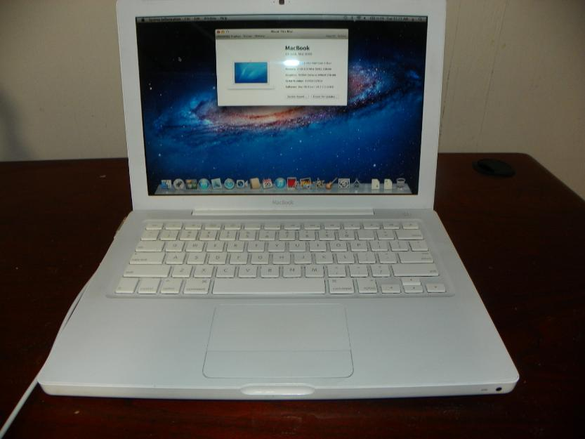 Apple Macbook White 2 2 Core 2 Duo 4gb Ram 250gb 320gb
